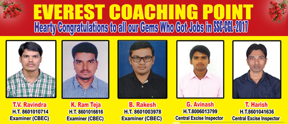 everest coaching point best ssc cgl institute in india